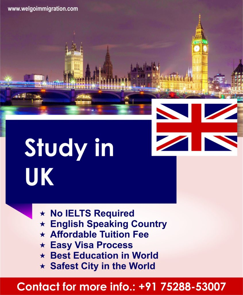 UK Study Visa Without IELTS
